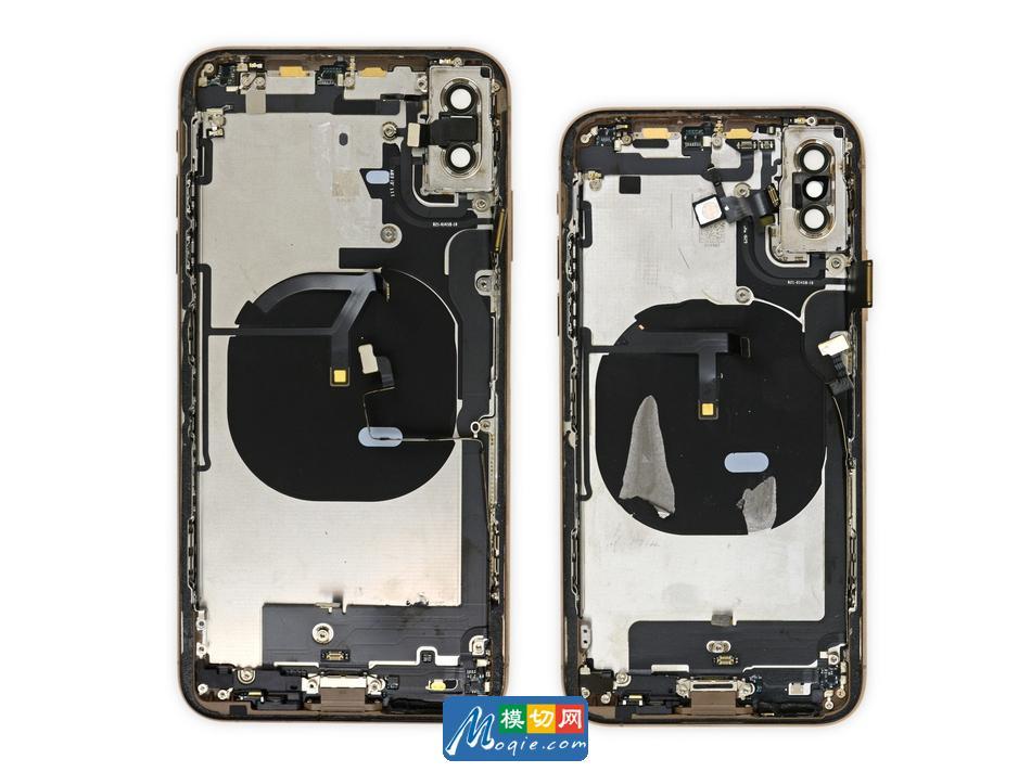 拆解苹果iphone xs手机:爱模切爱拆机