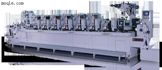 全轮转/间歇式商标印刷机llr-300