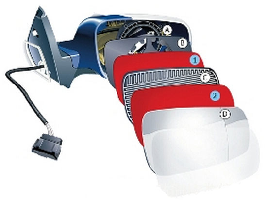 车镜装配专用:tesa 66108泡棉双面胶